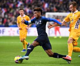 RM, Barca and Man City are interested in Coman. AFP