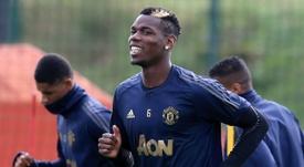 Le joueur de Manchester United, Paul Pogba. AFP