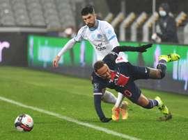 Trophée des champions: passe d'armes entre Neymar et Alvaro sur Twitter. afp