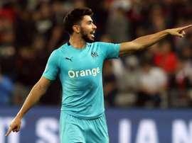 Sanson anotó el único gol del partido. AFP