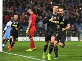 A Juventus apresentará um onze todo poderoso. AFP