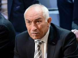 Le co-président de lUNFP. AFP