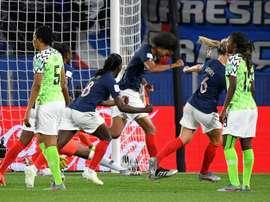 L'équipe de France reste sur un court succès sur le Nigeria. AFP