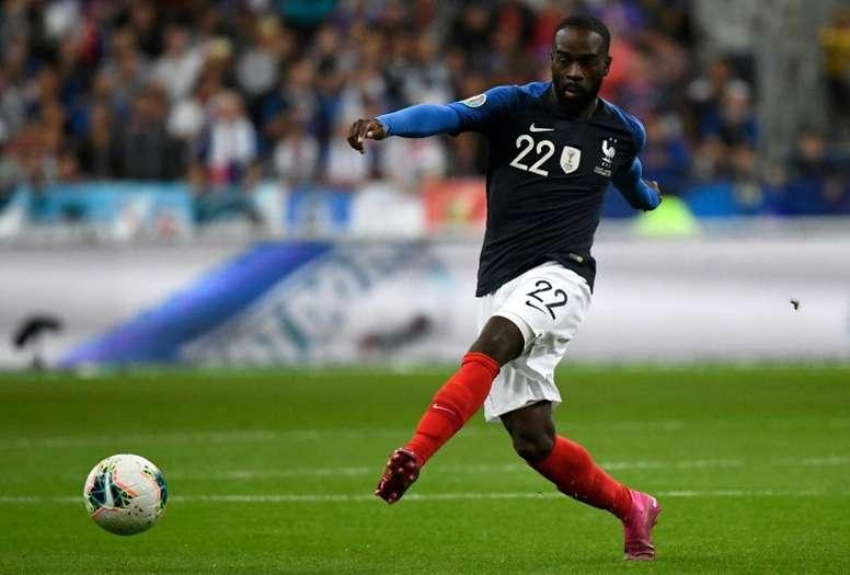 Jonathan Ikoné, talent pressé. AFP