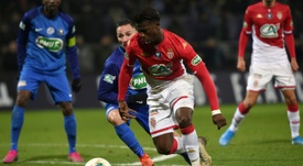 Keita Balde talked up a move to Barcelona. AFP