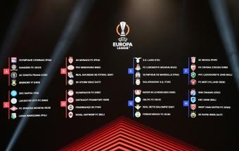 Acompanhe o sorteio dos grupos da Liga Europa 2021-22. AFP