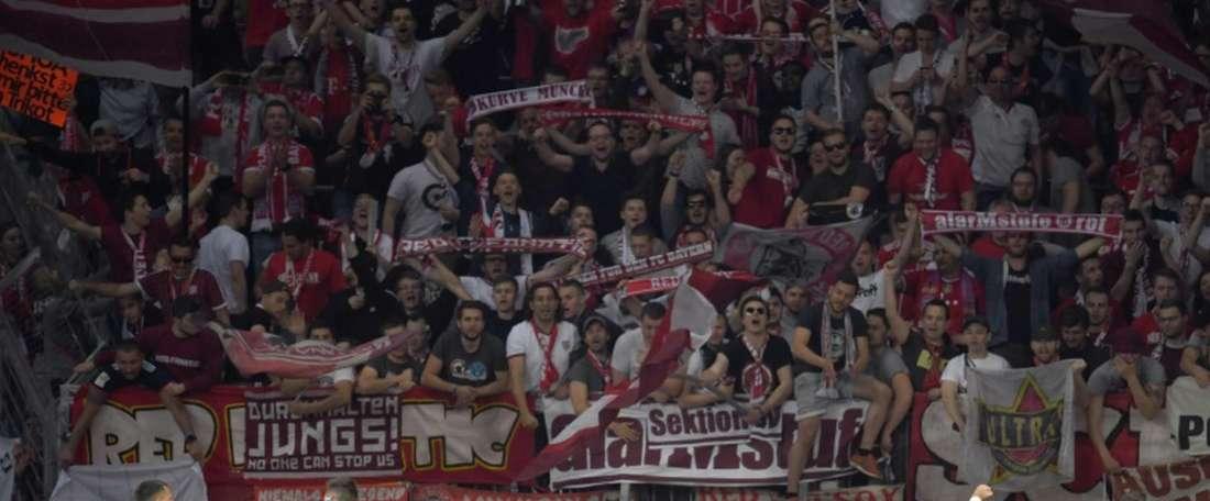 Les joueurs du Bayern en forme en Coupe allemande. AFP