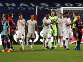 Os onze titulares do Bayern juntos custaram menos que Griezmann ou Dembélé. AFP