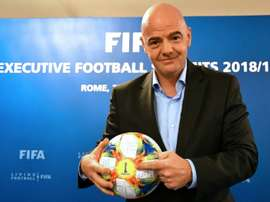 Infantino s'active. AFP