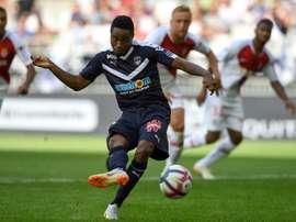 O Bordeaux bateu o Monaco por 2-1. AFP