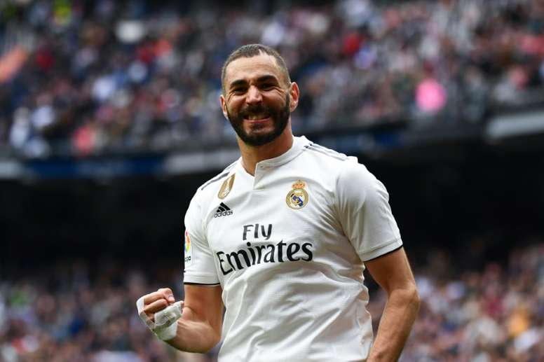 Benzema's agent wants him to stay at Real Madrid. AFP
