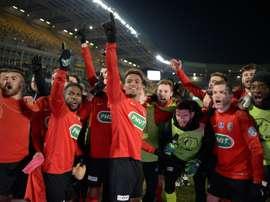 Les Herbiers veulent écrire l'histoire mardi soir en Coupe de France. AFP