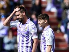 Sept joueurs de Valladolid impliqués dans les matches truqués. AFP
