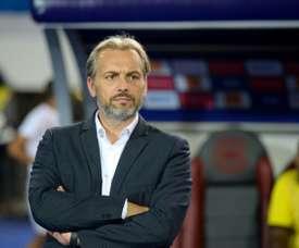 Sébastien Desabre nommé entraîneur de Niort. afp