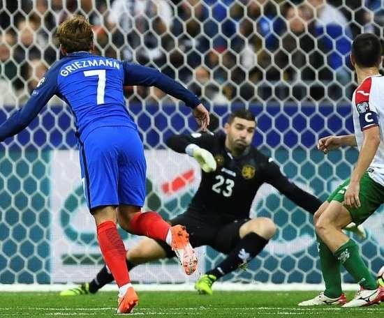 Un but de Matuidi a suffi à la France pour s'imposer à Sofia. AFP