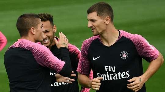 Tuchel veut ménager Neymar. AFP