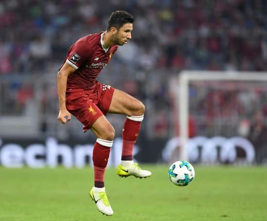 Liverpool prêtera Grujic de nouveau. AFP