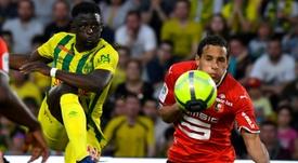 Nantes et Rennes repartent dos à dos. AFP