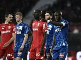 Les compos probables du match de Ligue 1 entre Dijon et Rennes. AFP