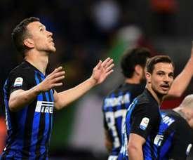 L'Inter se rapproche de la C1. AFP
