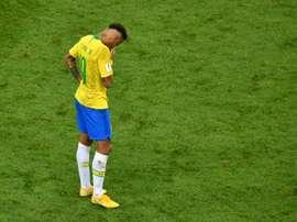 Neymar, pas parmi les élus. AFP