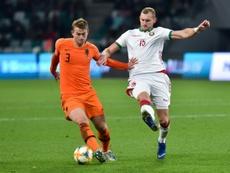 Depay et de Ligt tout de même dans la sélection néerlandaise. AFP