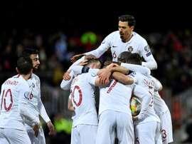 Le Portugal au rendez-vous, pas de relâchement pour l'Angleterre. AFP