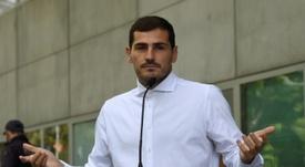 Casillas retire sa candidature à la présidence de la Fédération. AFP