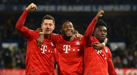 Presidente o Bayern nega uma troca com o City. AFP