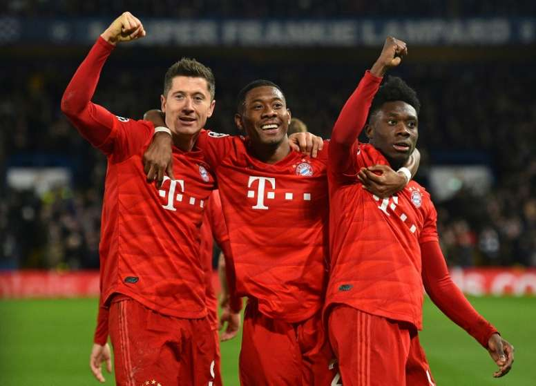 Alaba now sees his future away from Munich and has offered himself to Barcelona. AFP