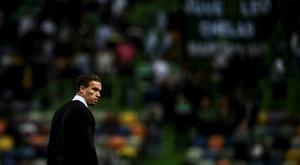 L'entraîneur du LASK limogé. AFP