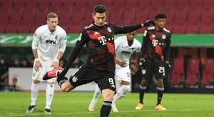 Le Bayern et super-Lewandowski virent en tête à mi-championnat. afp