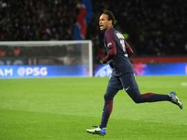Neymar stole the show as PSG thumped Dijon. AFP
