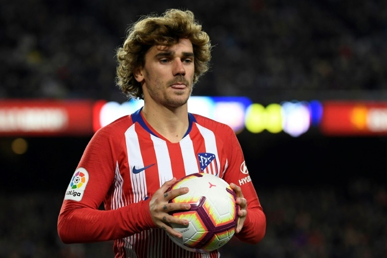 Barcelona haven't ruled out a move for Griezmann. AFP