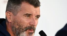 Keane le mete fuerte a Pogba. AFP