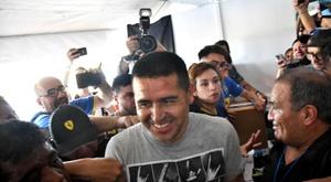 La liste Riquelme bat celle de Maradona. AFP