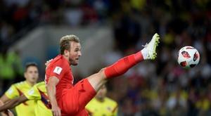Inglaterra echó de menos a Kane ante Croacia. AFP