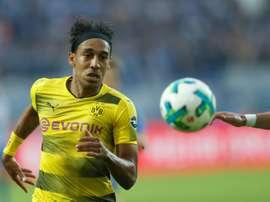 Aubameyang es el jugador más rápido del FIFA 18. AFP/Archivo