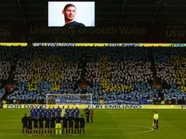 Cardiff voit des anomalies dans le contrat d'Emiliano Sala. AFP