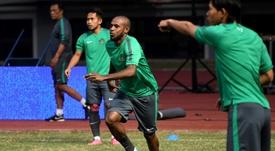 Solossa est le capitaine de la Papouasie. AFP