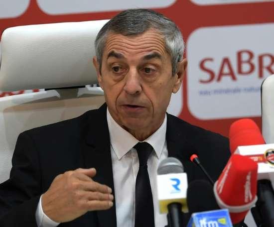 Le tout nouveau sélectionneur de la Tunisie Alain Giresse. AFP