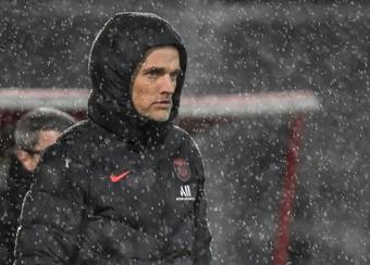 Tuchel, con problemas, pasa del Bayern. AFP