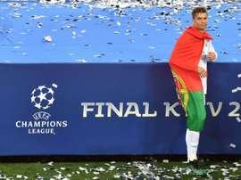 A última dança de Cristiano Ronaldo. AFP
