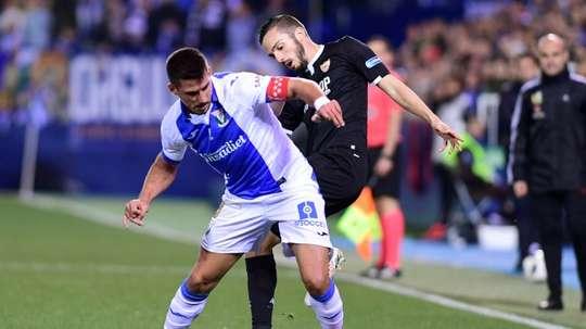 Gabriel Pires está haciendo la pretemporada con el Leganés en Madrid. AFP