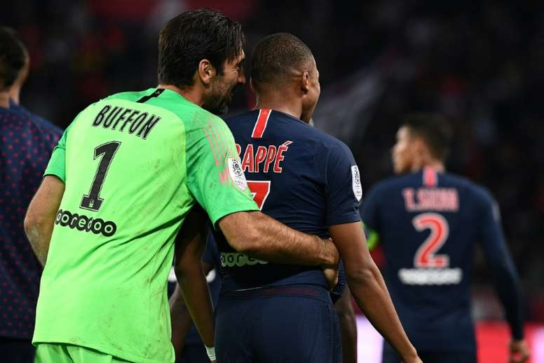 Mbappe and Buffon will return to the starting XI. AFP