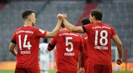 Perisic fue verdugo del PSG con el Bayern en la Champions. AFP