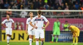El RB Leipzig quiere tapar el hueco de Werner con el nuevo Haaland. AFP