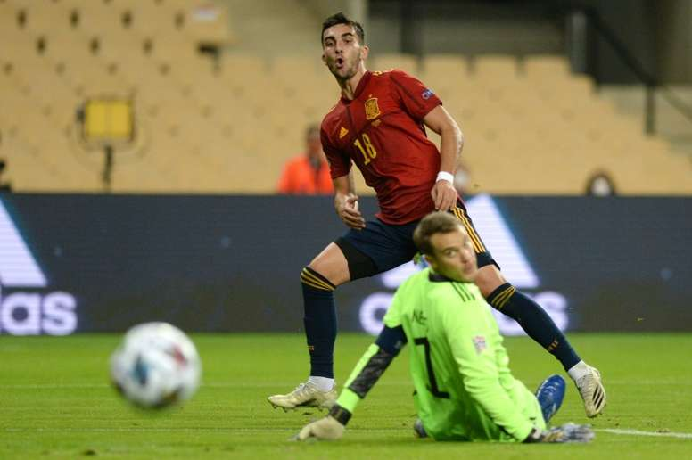 L'Espagne inflige un 6-0 historique à l'Allemagne. afp