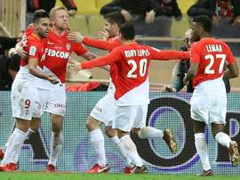 O Monaco bateu o Metz pela liga francesa. AFP