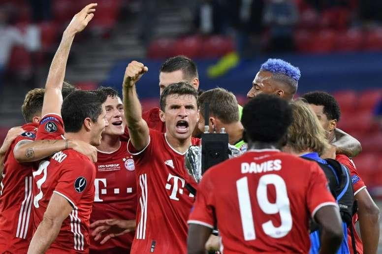 El Bayern, campeón. AFP